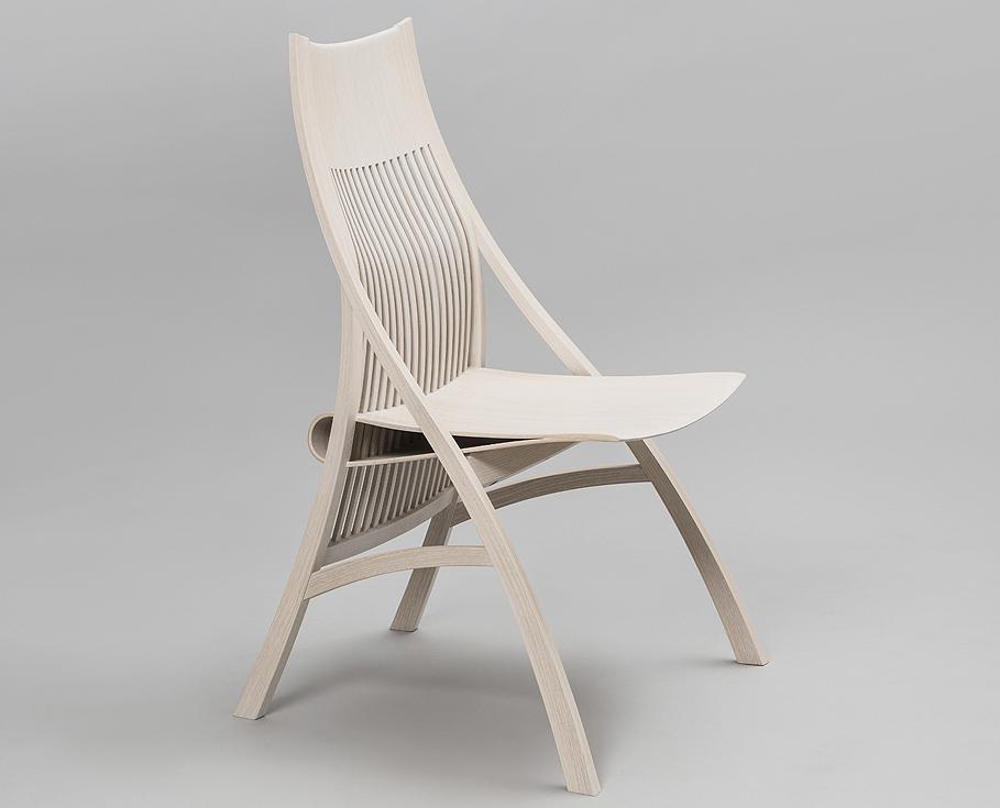 Chair by Japanese furniture maker and artist Yuri Kobayashi.