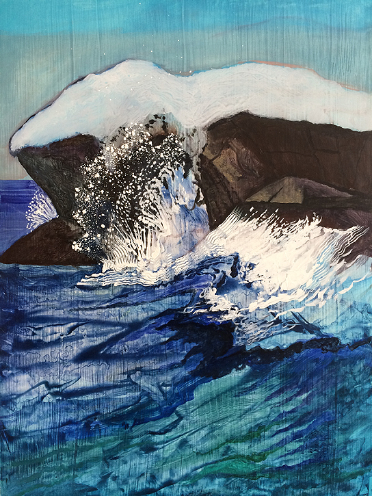 Painting by Julia von Metsch Ramos