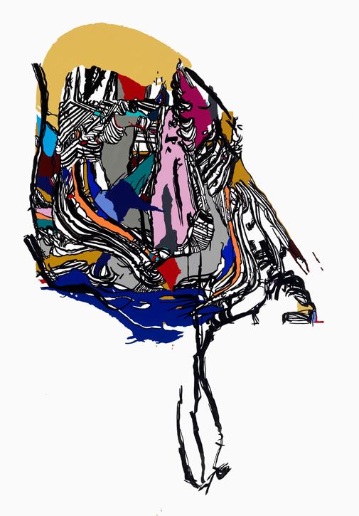 Painting by Sophia Ainslie