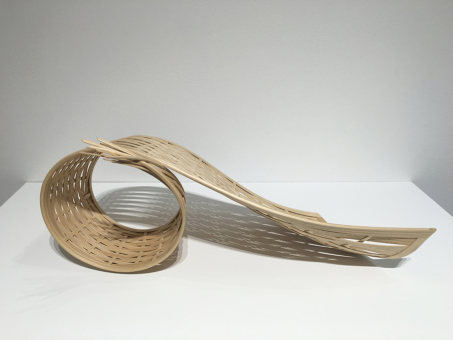 Sculpture by Japanese furniture maker and artist Yuri Kobayashi.