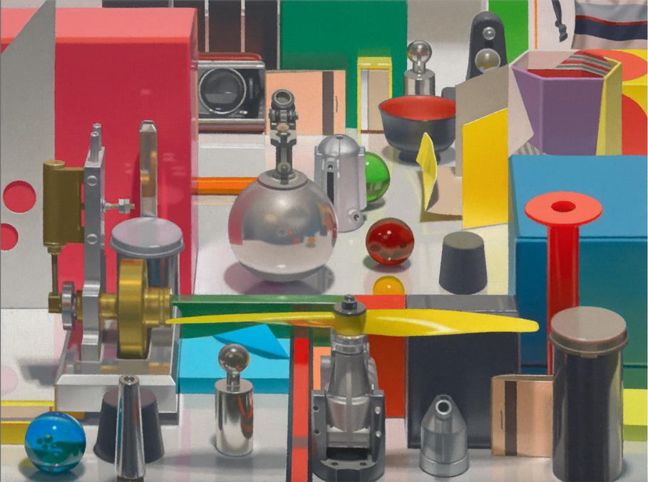 Paintings by Harold Reddicliffe