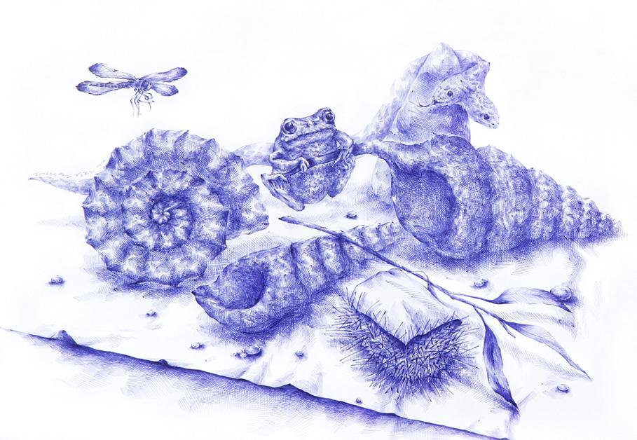 Drawing by Joo Lee Kang