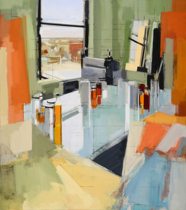 Painting by Peri Schwartz