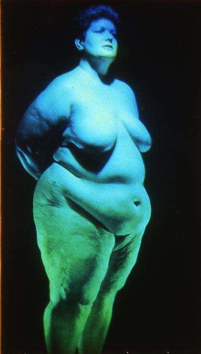 Reflection hologram by Harriet Casdin-Silver