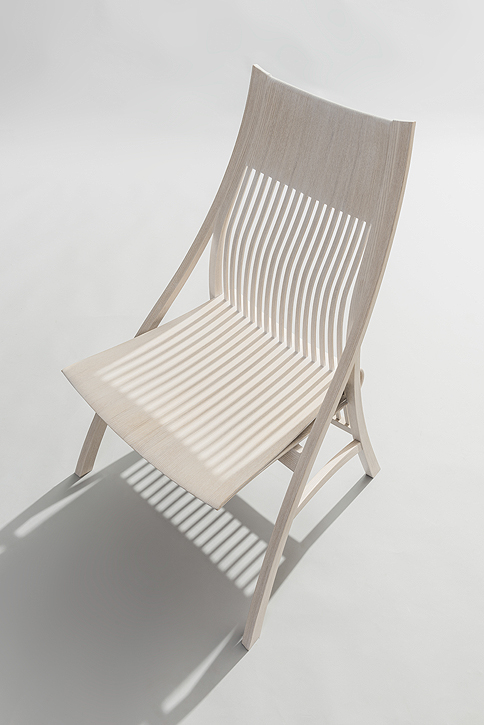 Chair by Japanese furniture maker and artist Yuri Kobayashi.