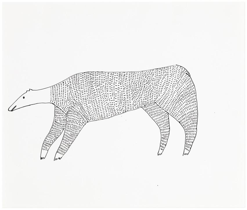 Work on paper by Judy Kensley McKie