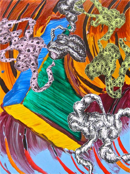 Painting by Roger Kizik