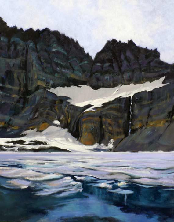 Painting by Diane Norris