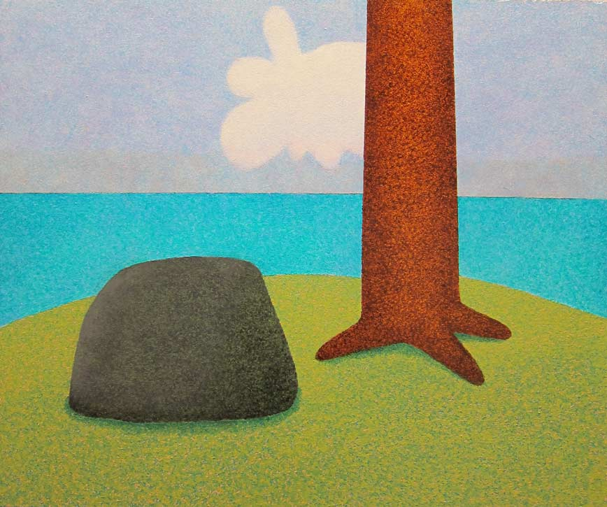Painting by Jonathan Stangroom
