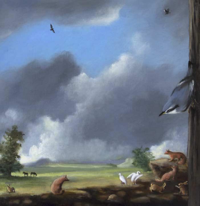 Painting by Gail Boyajian