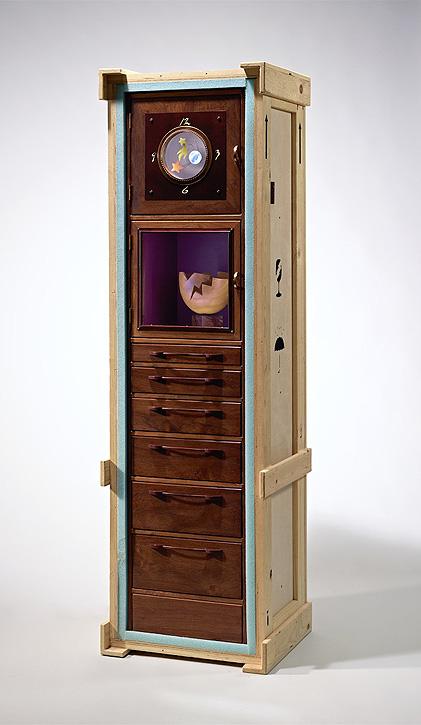 Clock by Garry Knox Bennett