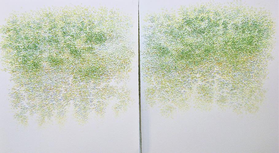 Painting by Masako Kamiya