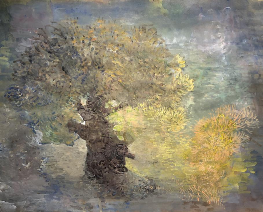 Painting by Robert Ferrandini