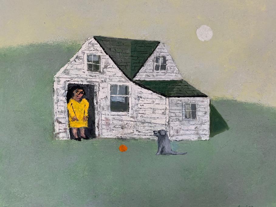 Painting by William Irvine