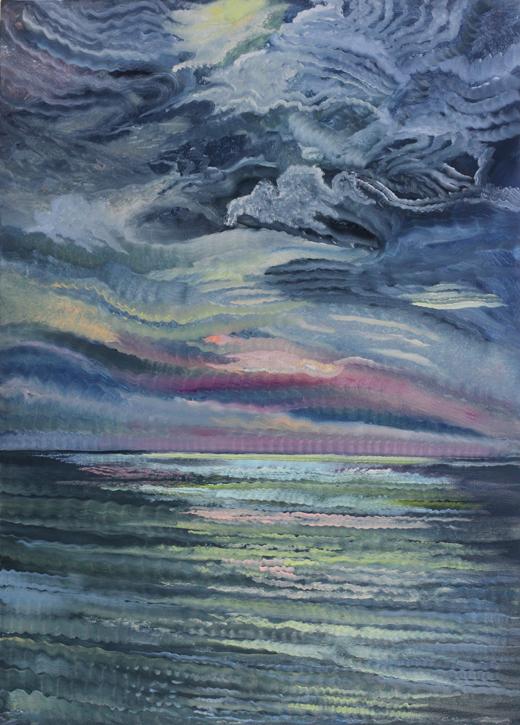 Painting by Julia von Metzsch
