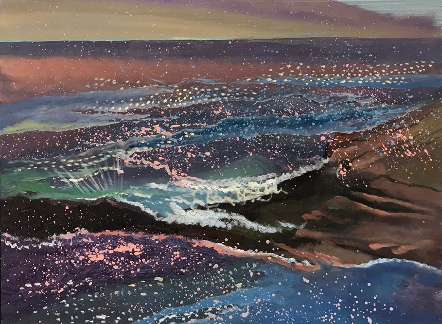 Painting by Julia von Metzsch Ramos