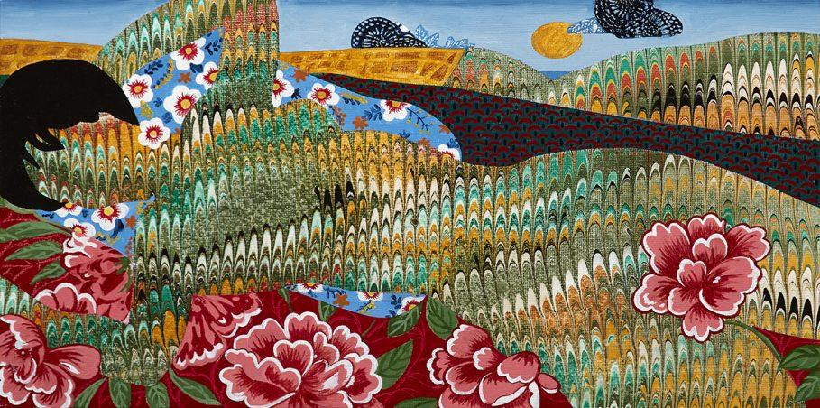 Painting by Dinorá Justice